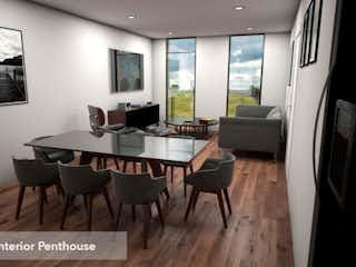 Una sala de estar llena de muebles y una televisión de pantalla plana en Vertiz 1320