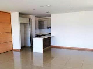 Cocina con nevera y horno de fogones en Apartamento en venta en Santa María de los Ángeles, 133mt con balcon
