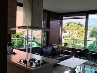 Una cocina con un fregadero y una estufa en Apartamento en Venta en Calasanz