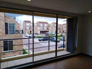 Una vista de un balcón desde un balcón en Conjunto