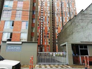 Ed Capri, apartamento en venta en El Chagualo, Medellín