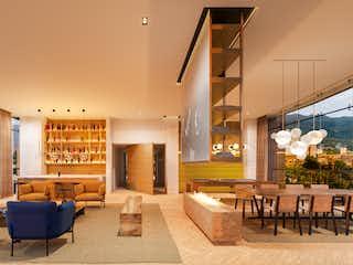 Una sala de estar llena de muebles y una mesa en Tribeca