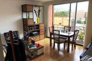 Apartamento de 81m2 en Chicó Norte, Bogotá - con dos alcobas