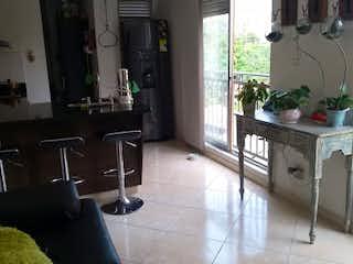 Una sala de estar llena de muebles y una ventana en Apartamento en venta en La Doctora, 69mt con balcon