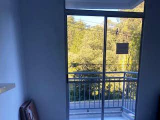 Una vista de una habitación con una puerta de cristal en Apartamento en Venta  Rionegro