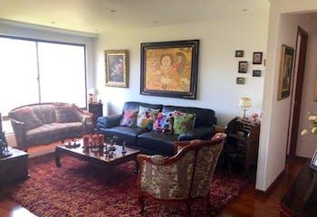 Apartamento en venta en Caobos Salazar de 97m²