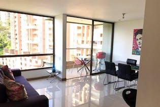 Interclub, Apartamento en venta en Altos Del Poblado, 92m² con Zonas húmedas...