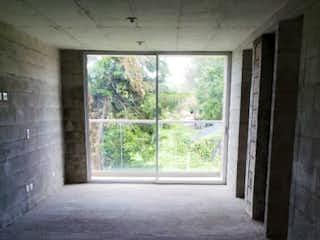 Una vista del pasillo desde la puerta en Apartamento en venta en San Antonio de Pereira de dos alcobas