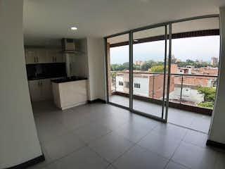 Una gran cocina con un gran ventanal en Apartamento en venta en Tejelo, 73m²
