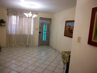 Un cuarto de baño con un inodoro de ducha y lavabo en Apartamento en venta en Santa Mónica, de 70mtrs2