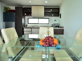 Una cocina con un mostrador y un mostrador en ventum