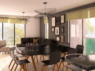 Una sala de estar llena de muebles y una gran ventana en Bahia de Todos los Santos