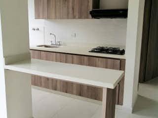 Un cuarto de baño con lavabo y un espejo en Apartamento en Venta VEREDA SAN JOSE