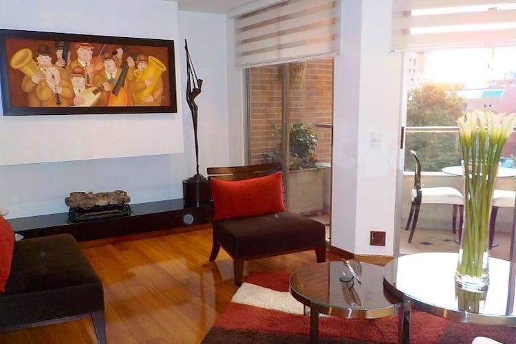 Foto 29 de Apartamento en Bogota Usaquen - con sala con chimenea