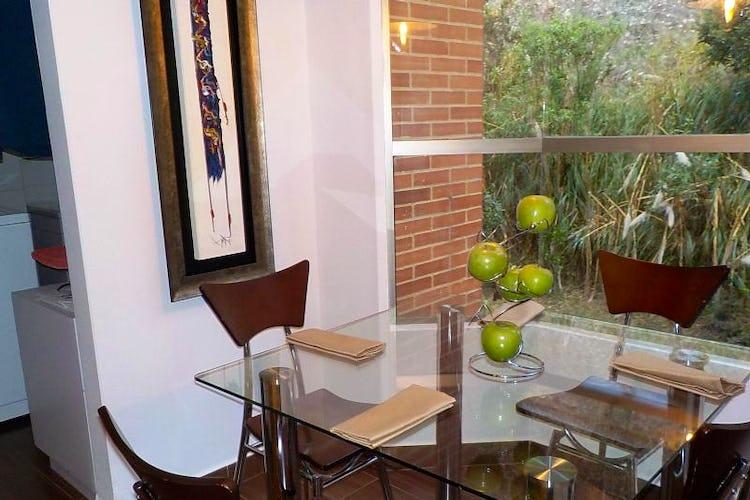 Foto 9 de Apartamento en Bogota Usaquen - con sala con chimenea