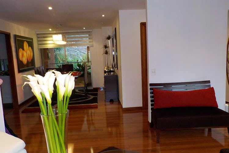 Foto 11 de Apartamento en Bogota Usaquen - con sala con chimenea