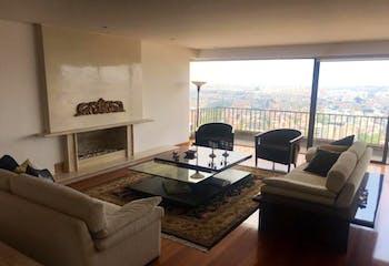 Apartamento El Refugio, Chico - 332mt, tres alcobas, chimenea