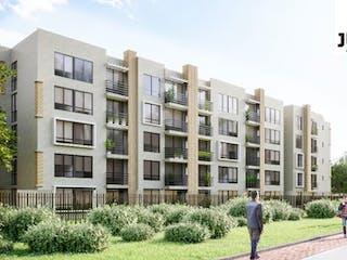 Juncal, apartamentos sobre planos en Cajicá, Cajicá