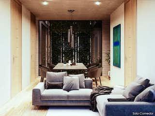 Una sala de estar llena de muebles y una ventana en Mier y Pesado 338