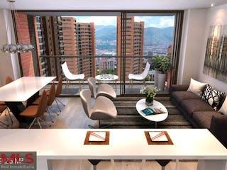 Tres Cantos, apartamento en venta en El Tesoro, Medellín