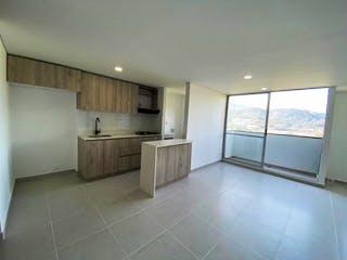 Una cocina con un lavabo y una ventana en Apartamento en Venta LA INMACULADA 1