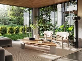 Una sala de estar llena de muebles y una ventana en Houzez