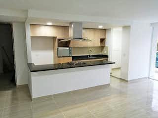 Una cocina con fregadero y nevera en Apartamento en venta en La Castellana, 92mt con balcon