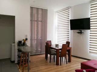 Una sala de estar llena de muebles y una ventana en Apartamento en Venta Villa Alsacia - Kennedy