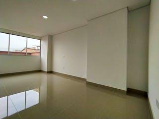 Un cuarto de baño con lavabo y ducha en Apartamento en venta en La Castellana, 91mt con balcon