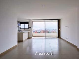 Una vista de una cocina desde el pasillo en Apartamento en venta en Simón Bolívar de tres habitaciones