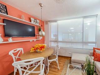 Una sala de estar llena de muebles y una televisión de pantalla plana en Cuatro Vientos - Cierzo