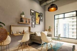 Urban Loft Chapinero, Apartamentos nuevos en venta en Galerías con 1 hab.
