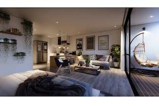 Apartamento en venta en Poblado de 46m²