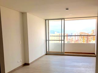 Una habitación que tiene una ventana en ella en Apartaestudio en Venta AVES MARíA