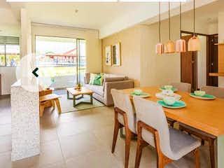 Una sala de estar llena de muebles y una mesa en 99234 - Venta apartamento Obra Gris Oceana Santa Ana Bello Medellin