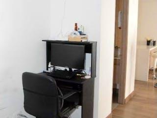 Una sala de estar llena de muebles y una televisión de pantalla plana en APARTAMENTO EN ALEJANDRA AZIMUTH