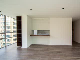 Una vista de una cocina desde el pasillo en Bogotá, Venta Apartaestudio para Estrenar en la Cabrera 86 mts