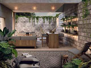 Una sala de estar llena de muebles y una ventana en Los Limoneros