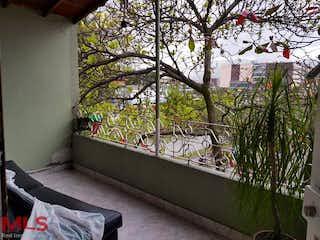 Una vista de una planta en maceta en un balcón en No aplica