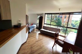 Apartamento en venta en Poblado de 37m²
