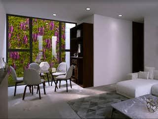 Una sala de estar llena de muebles y una ventana en Realeza División