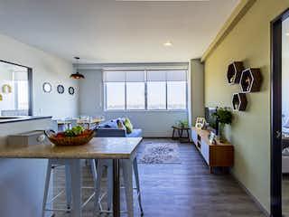 Una sala de estar llena de muebles y una mesa en ENKSA Azcapotzalco