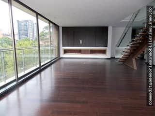 Una vista de un pasillo desde un pasillo en Venta  apartamento La Cabrera, Bogotá
