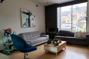 Casa en venta en Chia de 3 habitaciones