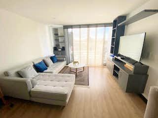 Una sala de estar llena de muebles y una televisión de pantalla plana en Se Vende Apartamento en Pasadena