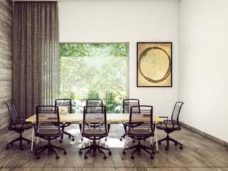 Un grupo de sillas sentadas en una habitación en Balcony 103