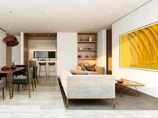 Una sala de estar llena de muebles y una ventana en Providencia 840