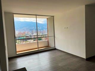 Una vista de una vista desde la ventana de una casa en Venta de Apartamento en Los Colores, Medellín
