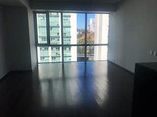 Una vista de una habitación con un gran ventanal en VENTA O RENTA DEPARTAMENTO HIGH PARK SANTA FE