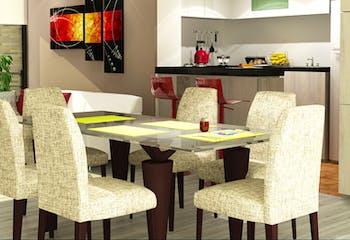 Cayena Real, Apartamentos en venta en Caobos Salazar de 1-2 hab.